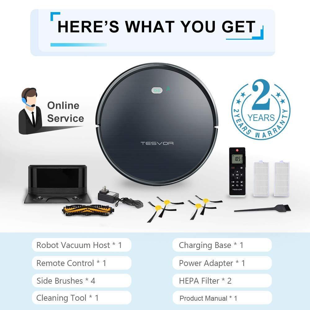 Smart Saugroboter Staubsauger Vakuum Reinigung Navigation Google Home Alexa DE